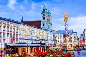 Aluguel de carros em Linz, Áustria