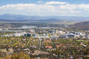 Sewa mobil Canberra, Australia
