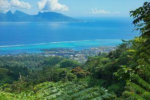Sewa mobil Moorea Island, Polinesia Perancis