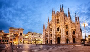 Menyewa kereta di Milan, Itali